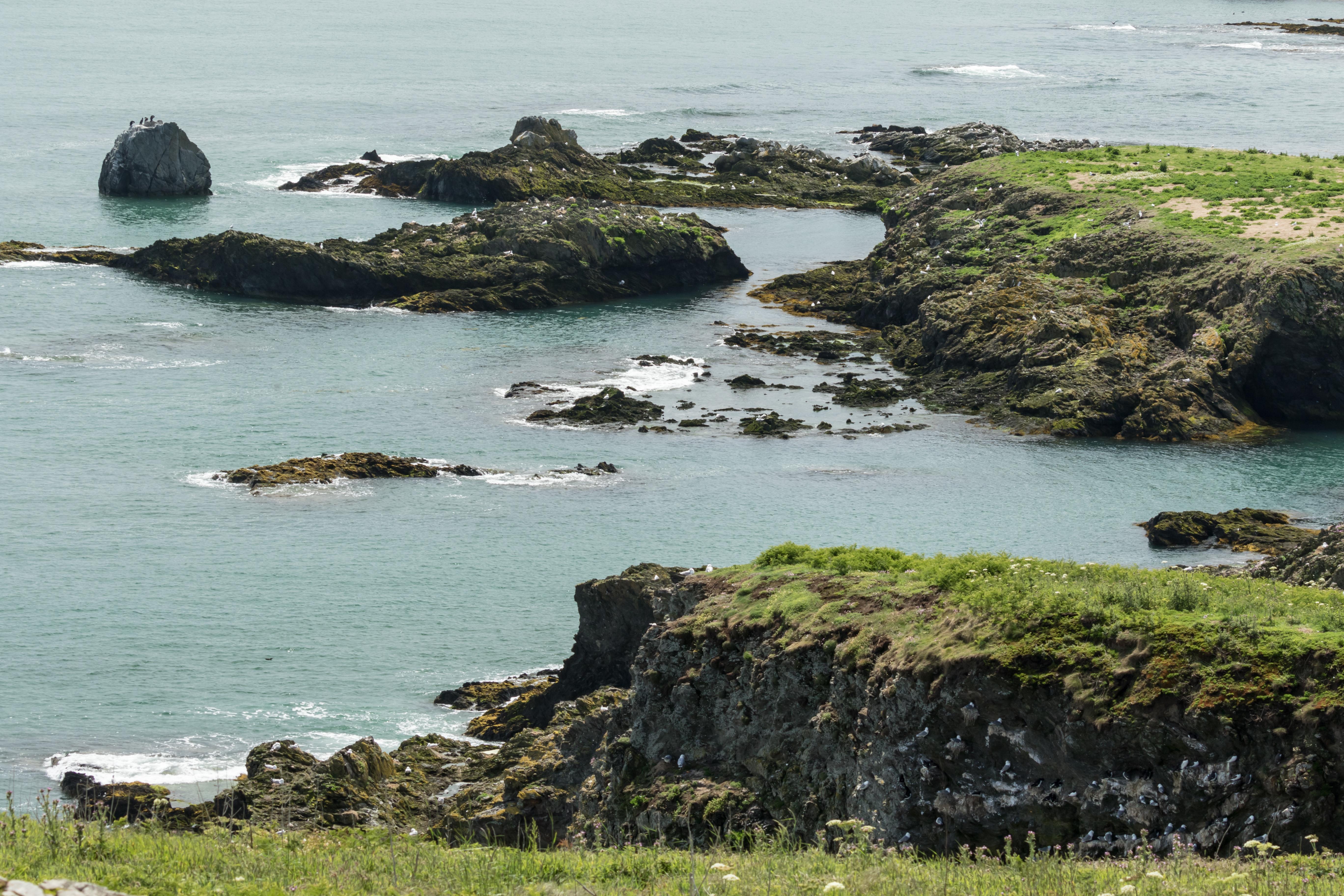 Eye of Ireland landscape